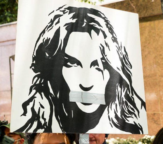 Britney protestors