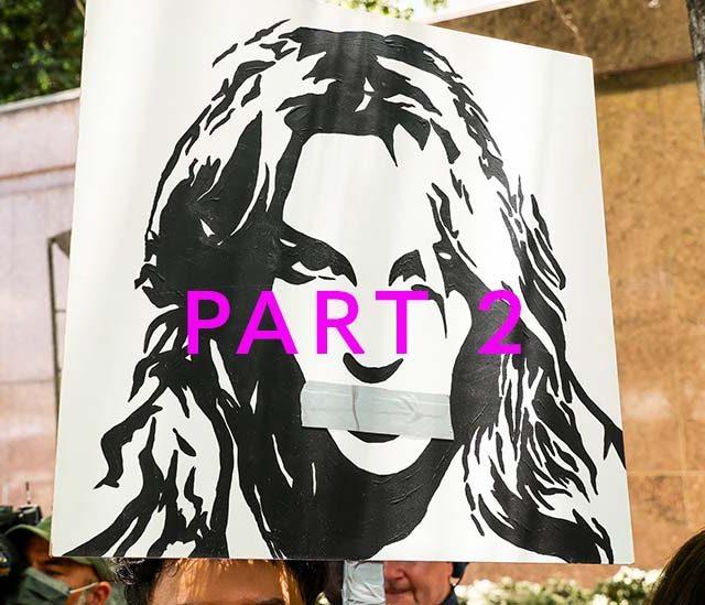 Britney protestors part 2